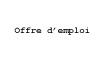 Offre d'emploi : poste de coordonnateur(trice), gestion des plaintes